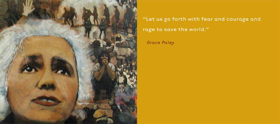 Grace Paley  •  Activist, Writer, Poet