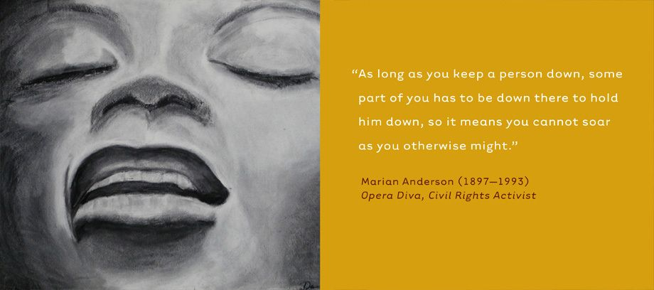 Marian Anderson, Opera Diva, Civil Rights Activist