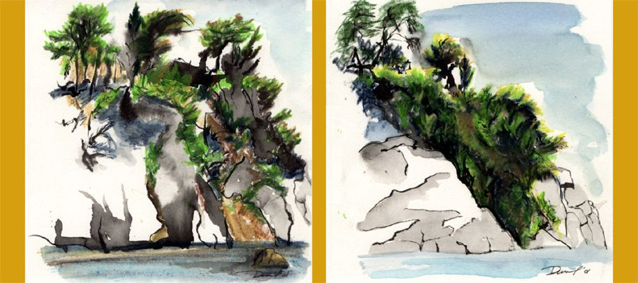 Cliffs 1 and 2