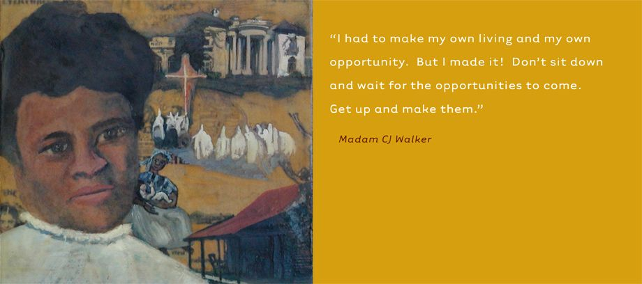 Madam CJ Walker • Entrepreneur