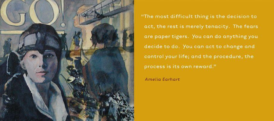 Amelia Earhart • Aviator