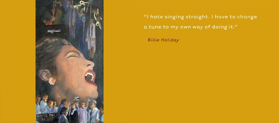 Billie Holiday • Jazz Singer, Civil Rights Activist