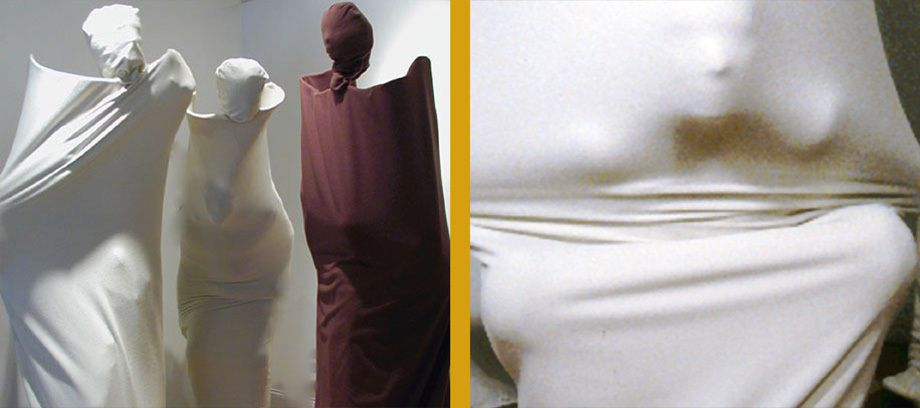 Veil, an interative Sculpture and Performance