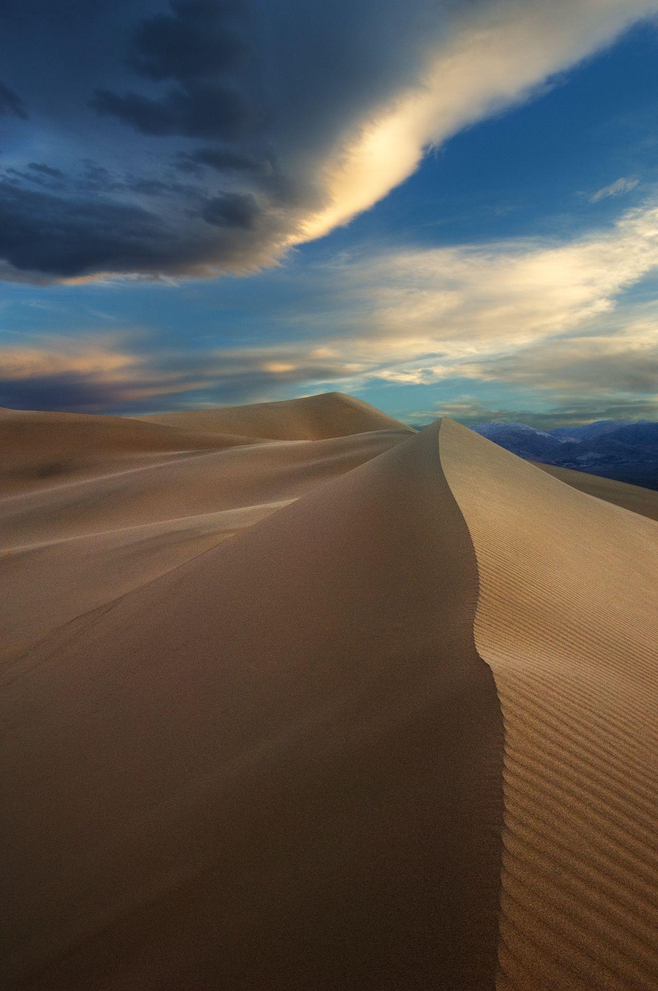 Cloud Over Ibex Dunes