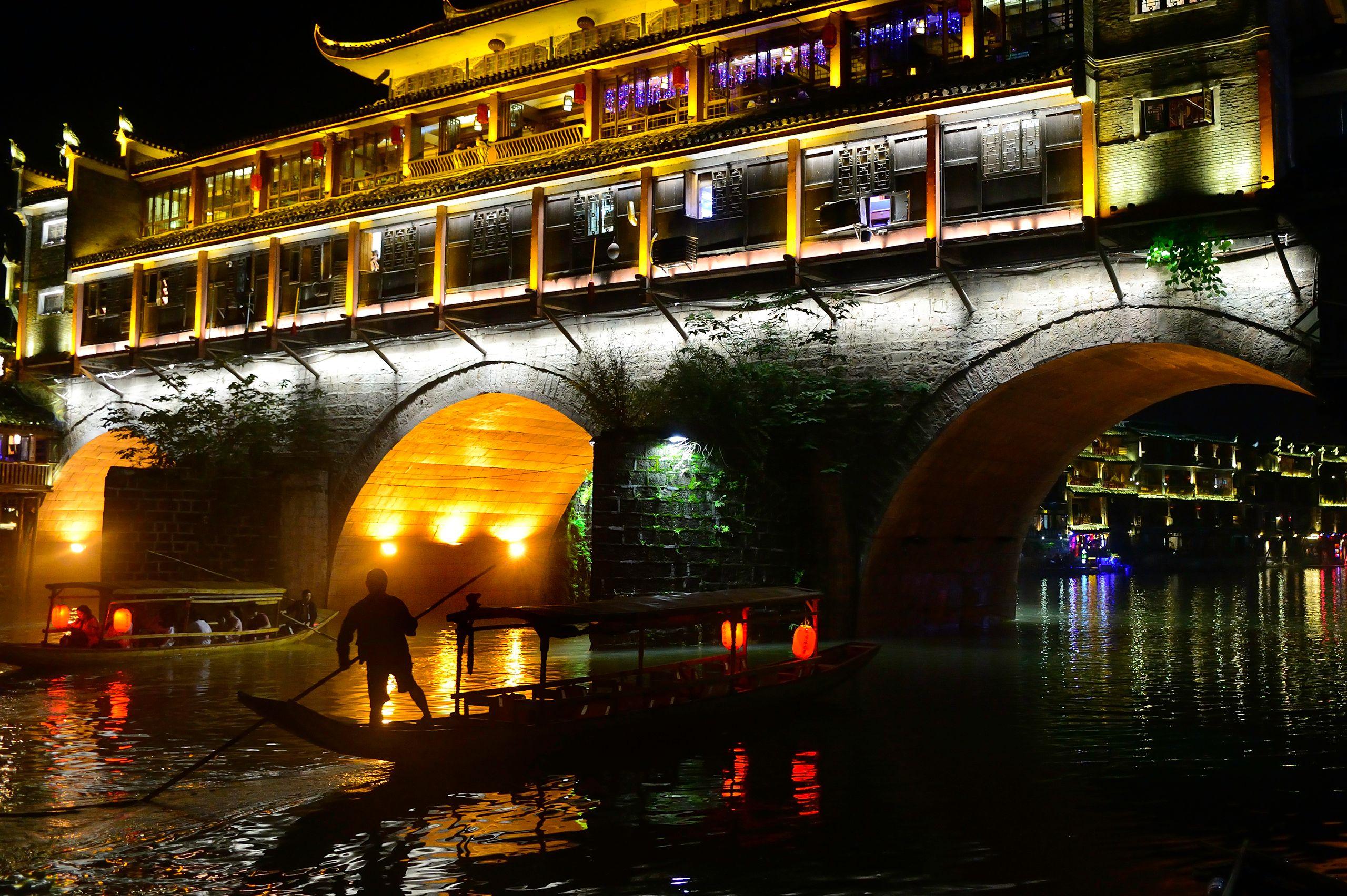 Phoenix Hong Bridge in Fenghuang