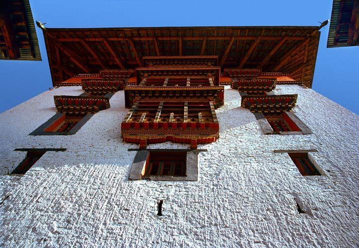 Rinchen Pung Dzong Stands Tall