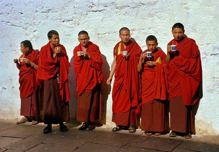 Tea Break for Monks
