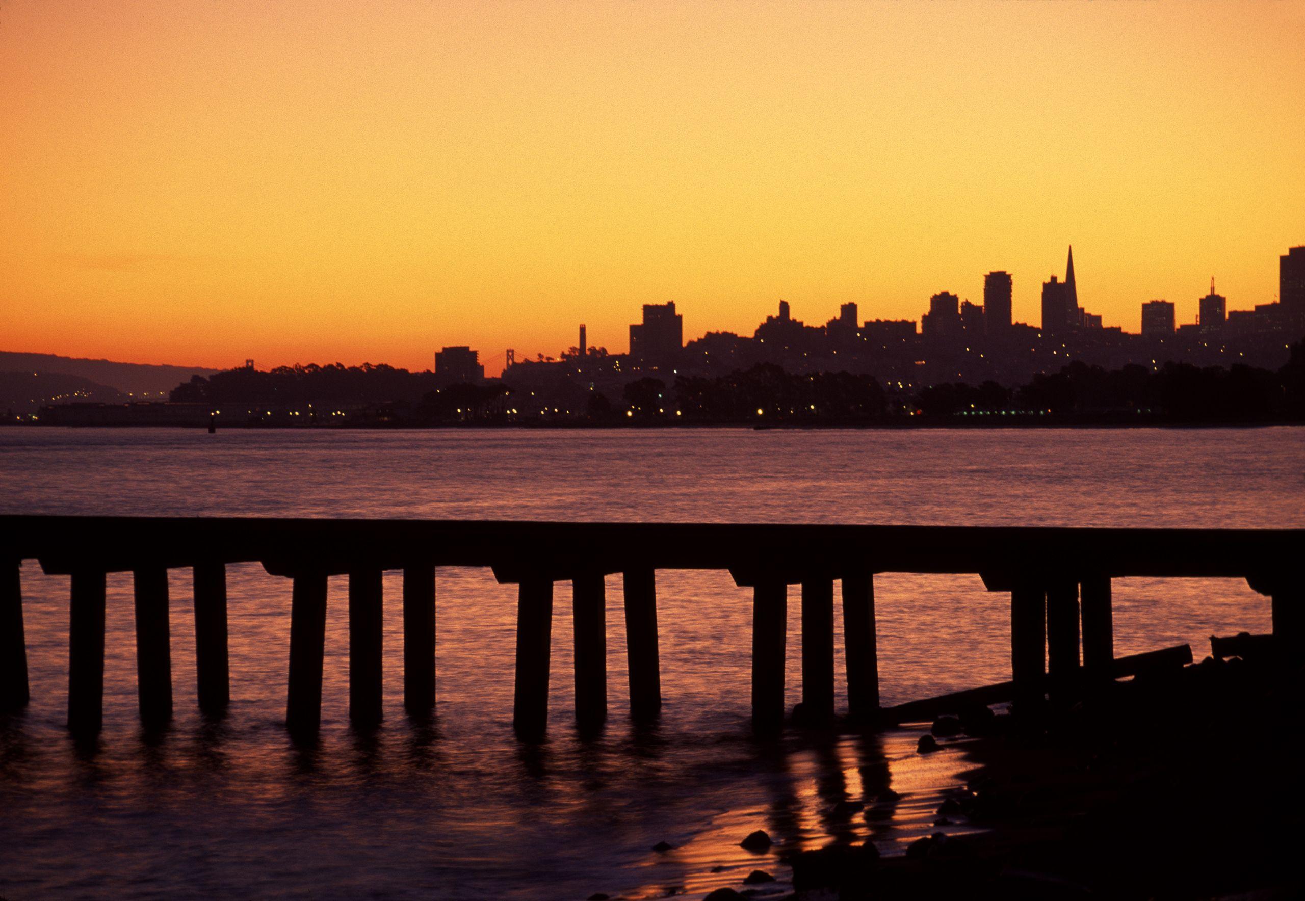 San Francisco Bay at Dawn