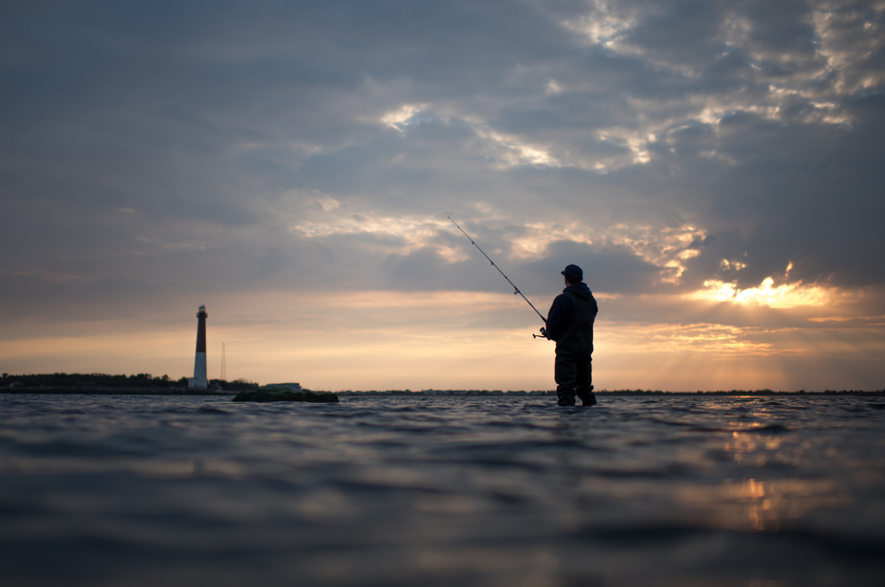 Sean Cahill Fishing by by Christopher Flanegan Photography