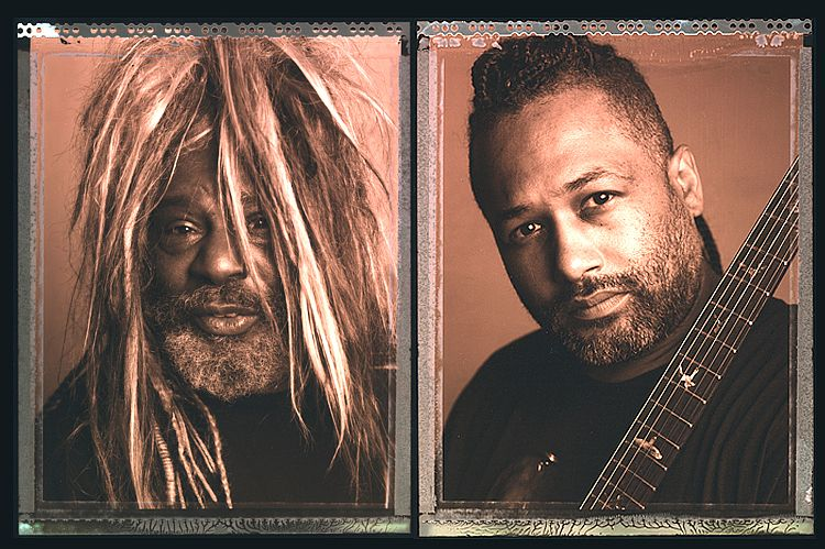 "George Clinton    &    Mike ""Kidd Funkadelic"" Hampton"