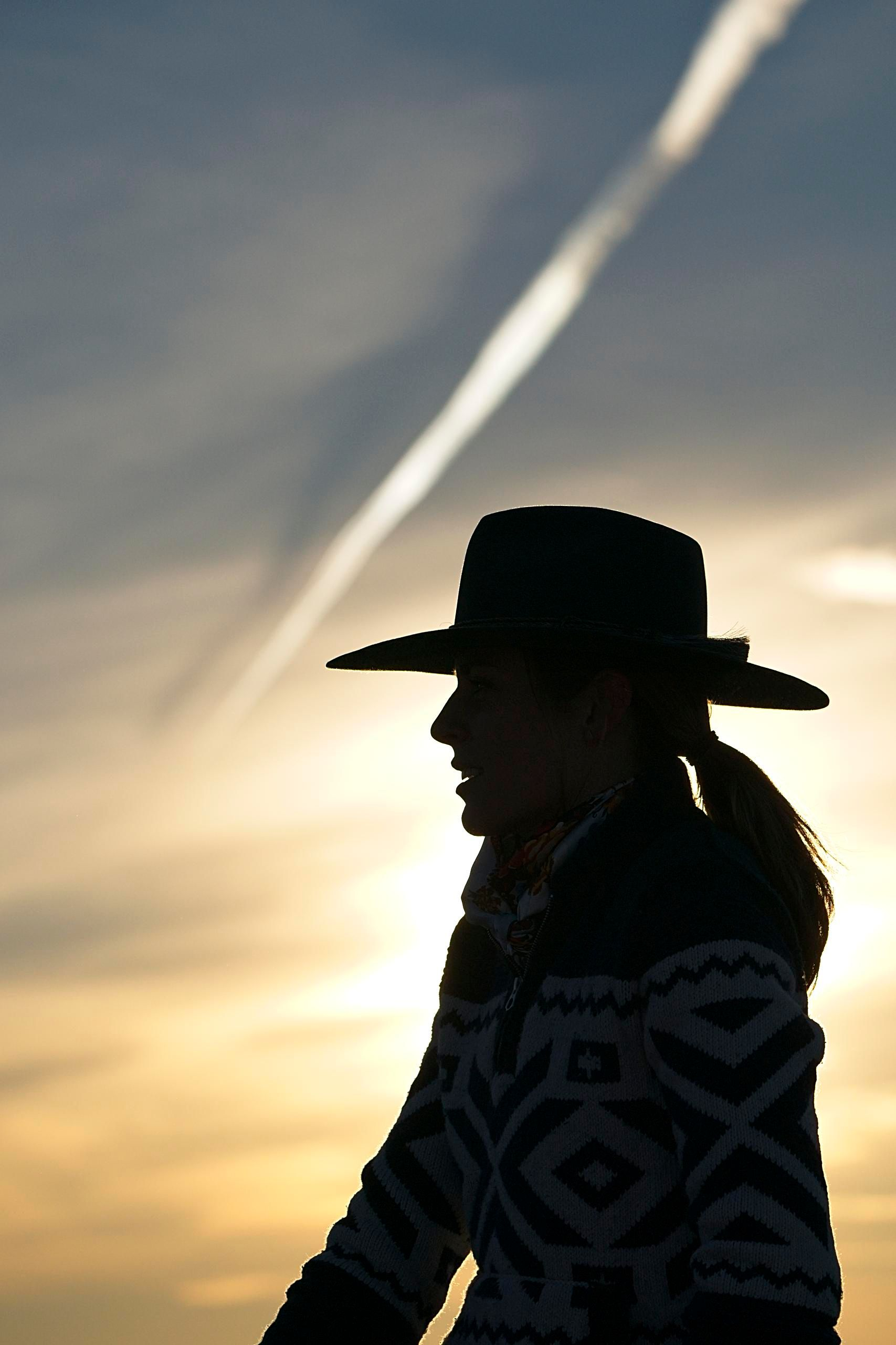 """""""Cowgirl Silhouette"""""""