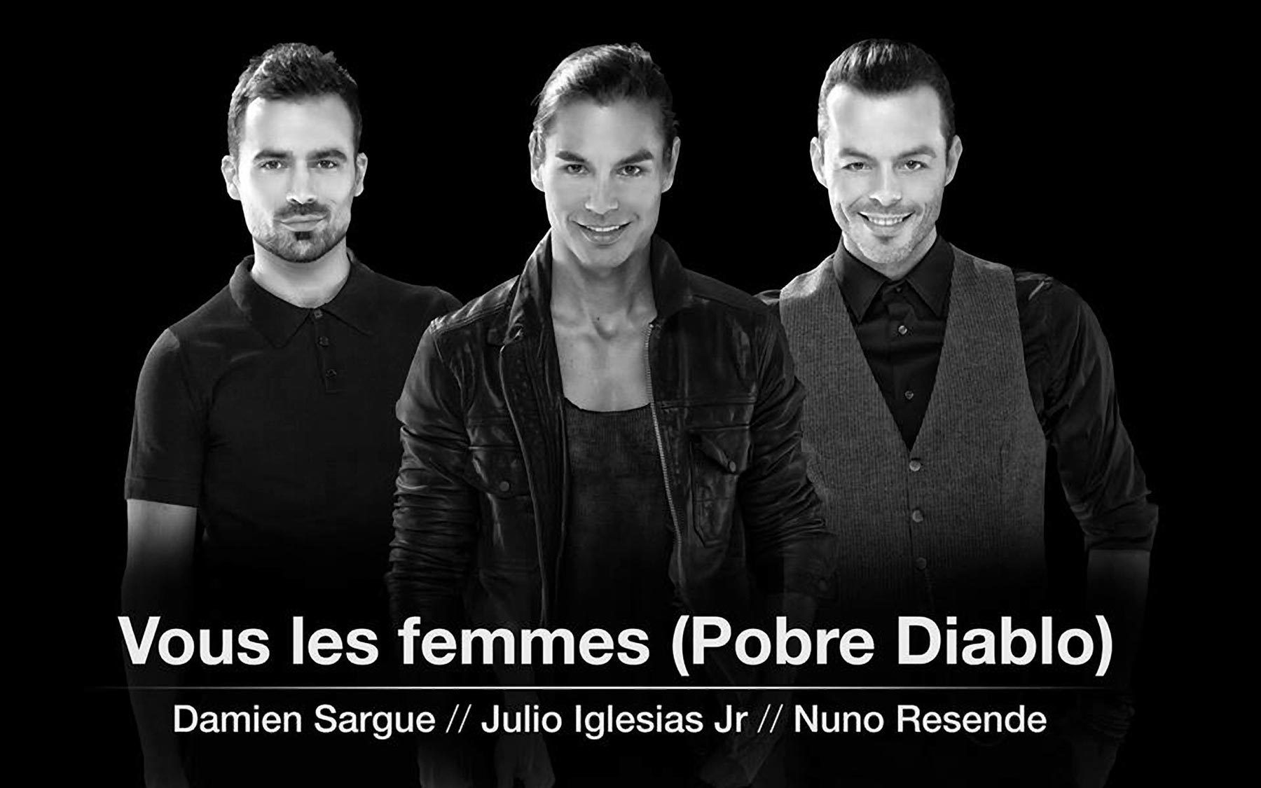 Damien Sargue, Julio Iglesias Jr., Nuno Resende