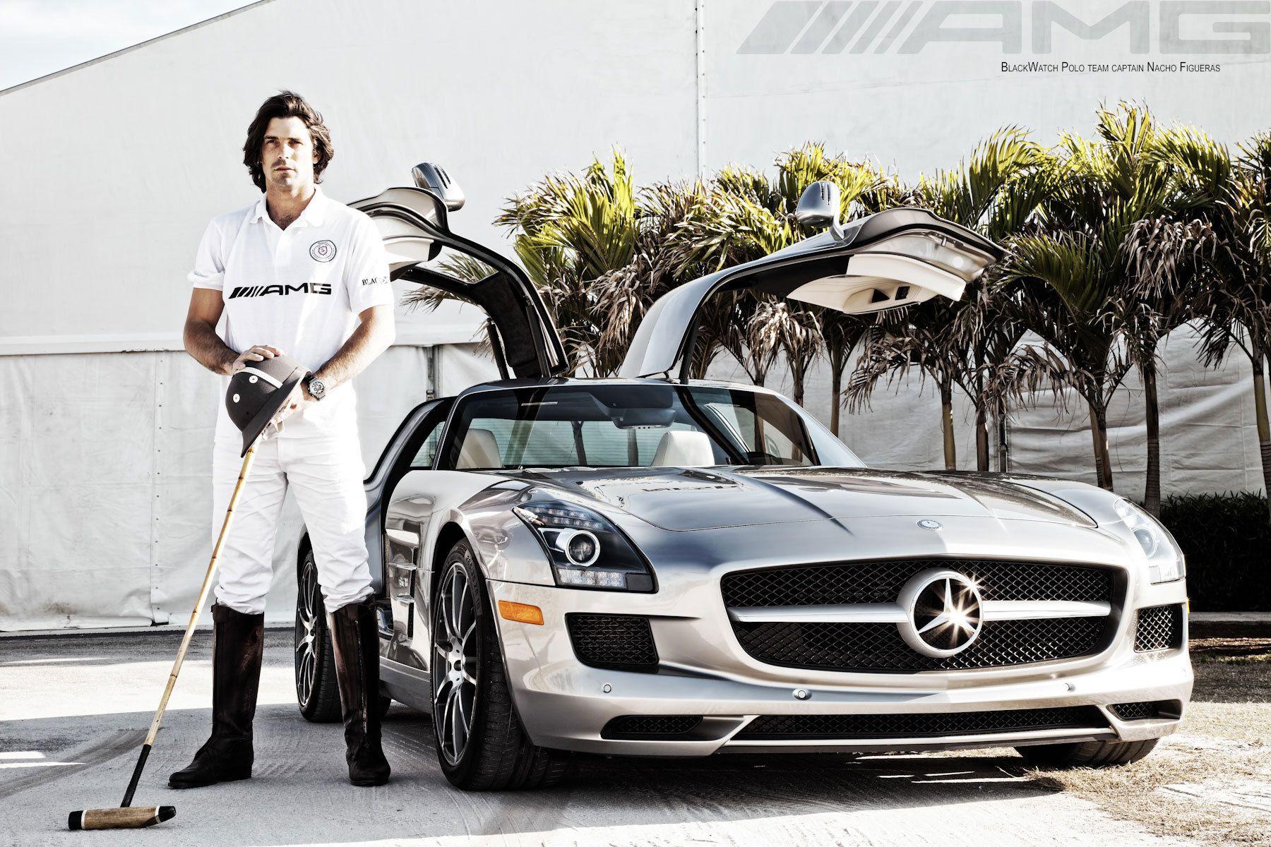AMG Mercedes Benz with Nacho Figueras