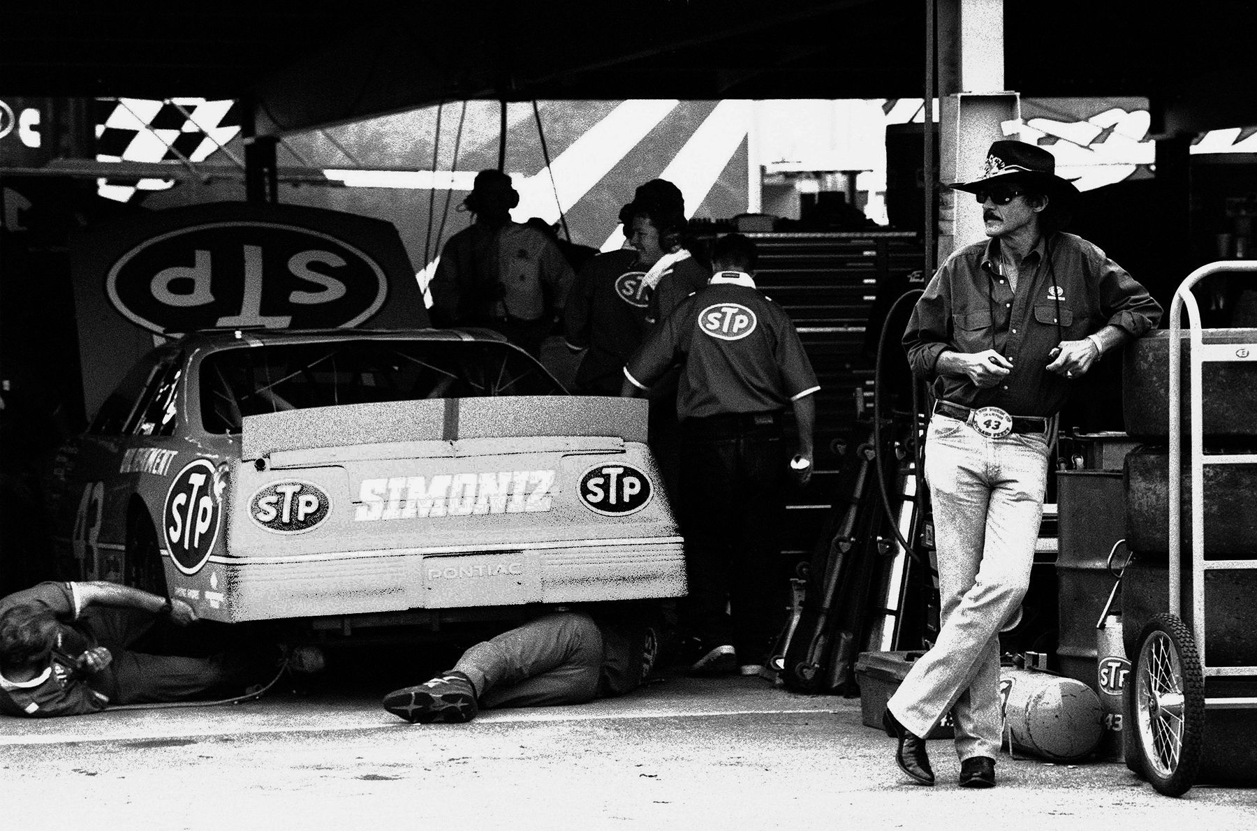 "Richard Petty  ""the king"""