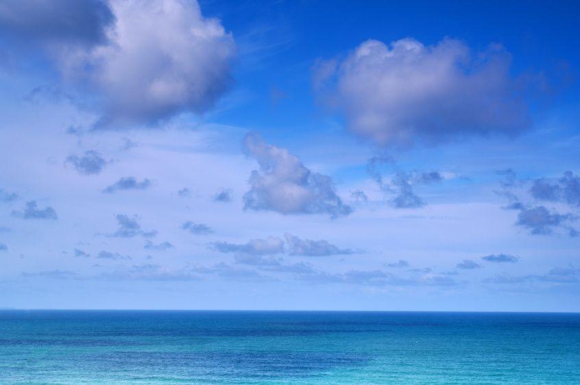 Cornish skies