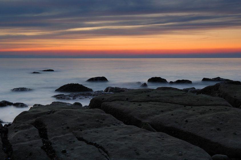 Edge of sea