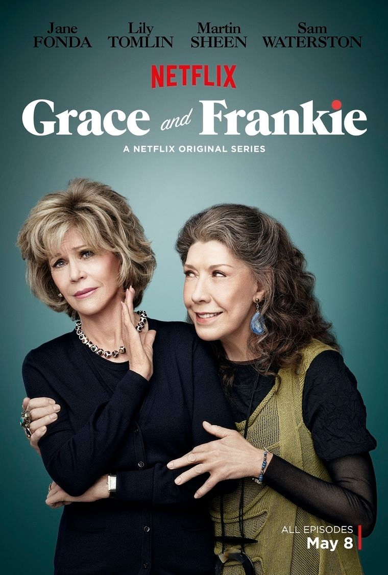Grace & Frankie Set Stills