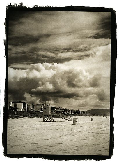 Manhatten Beach, Cloud Scape