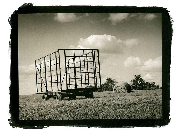 Hay Wagon, Westford, Vermont