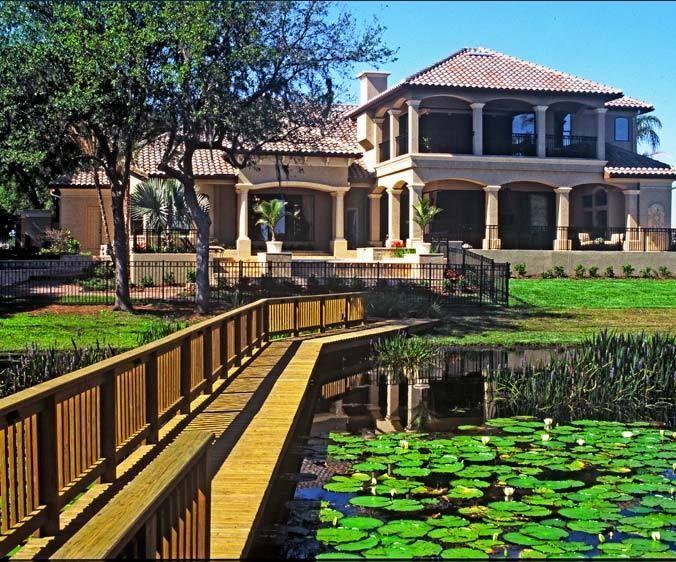 Rear Elevation Lee Fernandez Designed Home