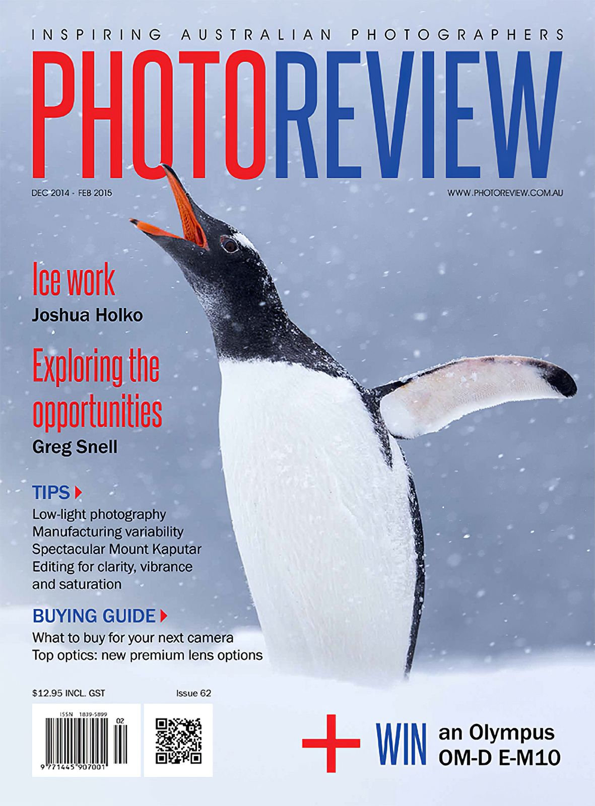 Cover photograph by Joshua Holko