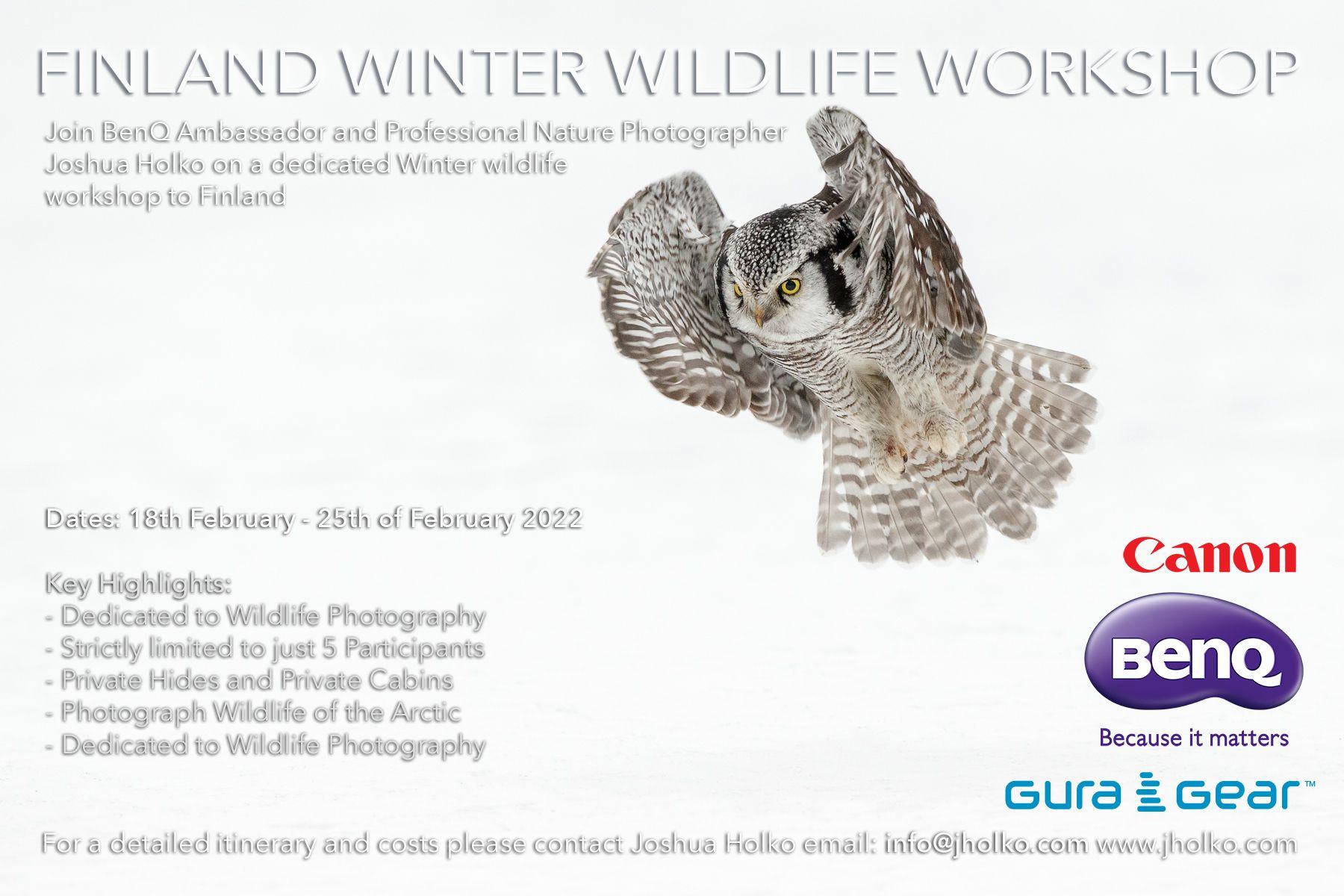 Finland Winter Workshop with Joshua Holko