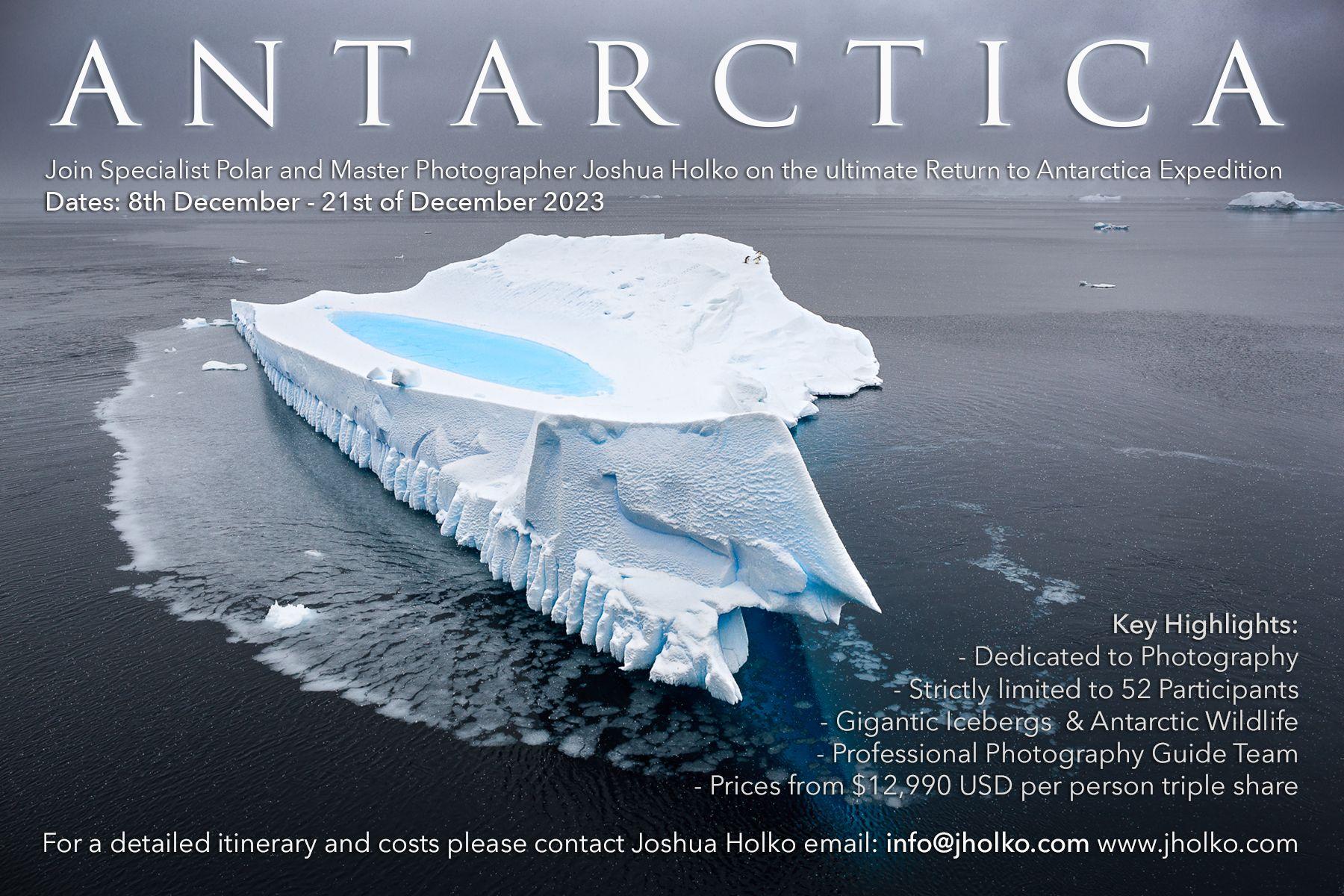 Antarctica Expedition with Joshua Holko 2023