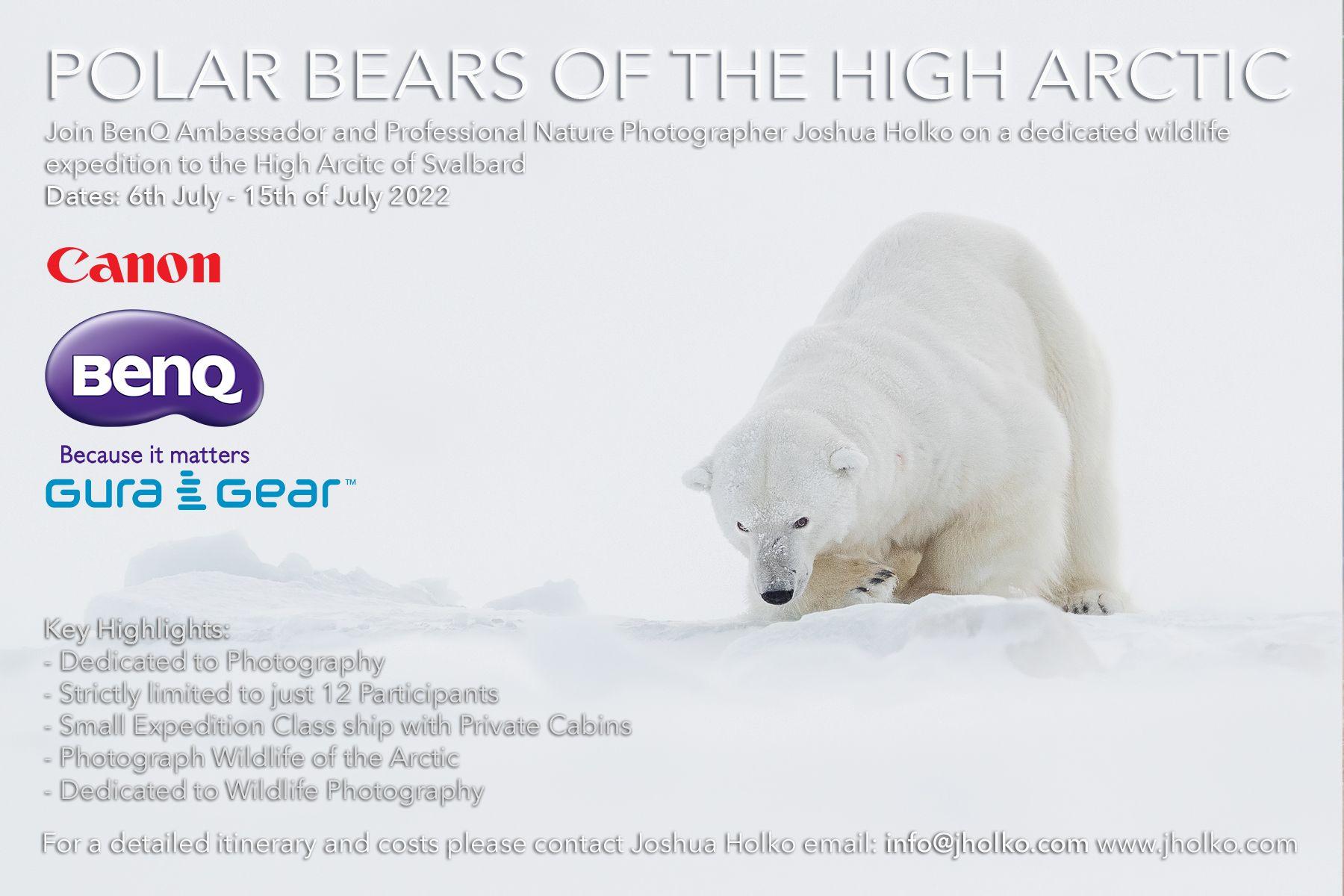 Polar Bears of the High Arctic Expedition with Joshua Holko 2022
