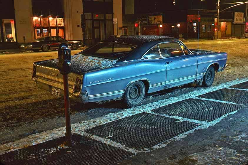 BLUE GALAXIE 500