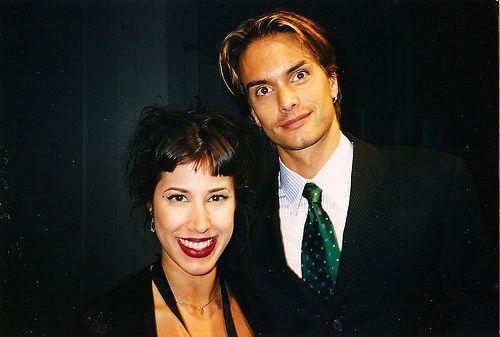 Marcus Schenkenberg and Yvette
