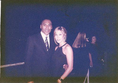 San Francisco 49er Legend, Roger Craig and Yvette (as a blonde!)