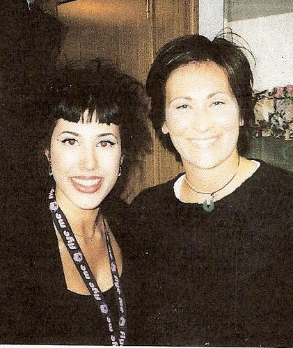 kd lang and Yvette