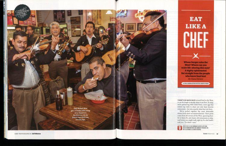 Sunset Magazine MAR 2013