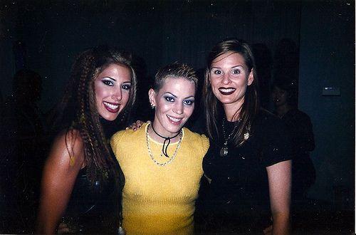 Joan Jett, Joan Willat and Yvette