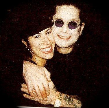 Ozzy Osbourne and Yvette