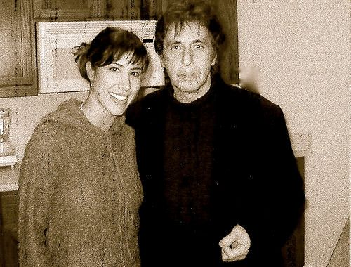 Al Pacino and Yvette