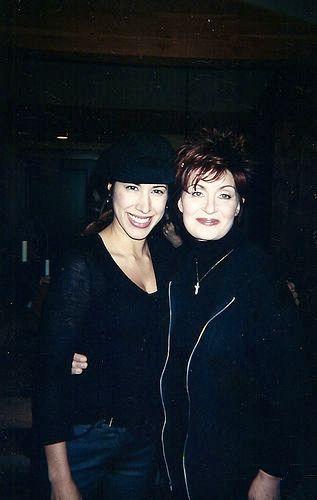 Sharon Osbourne and Yvette