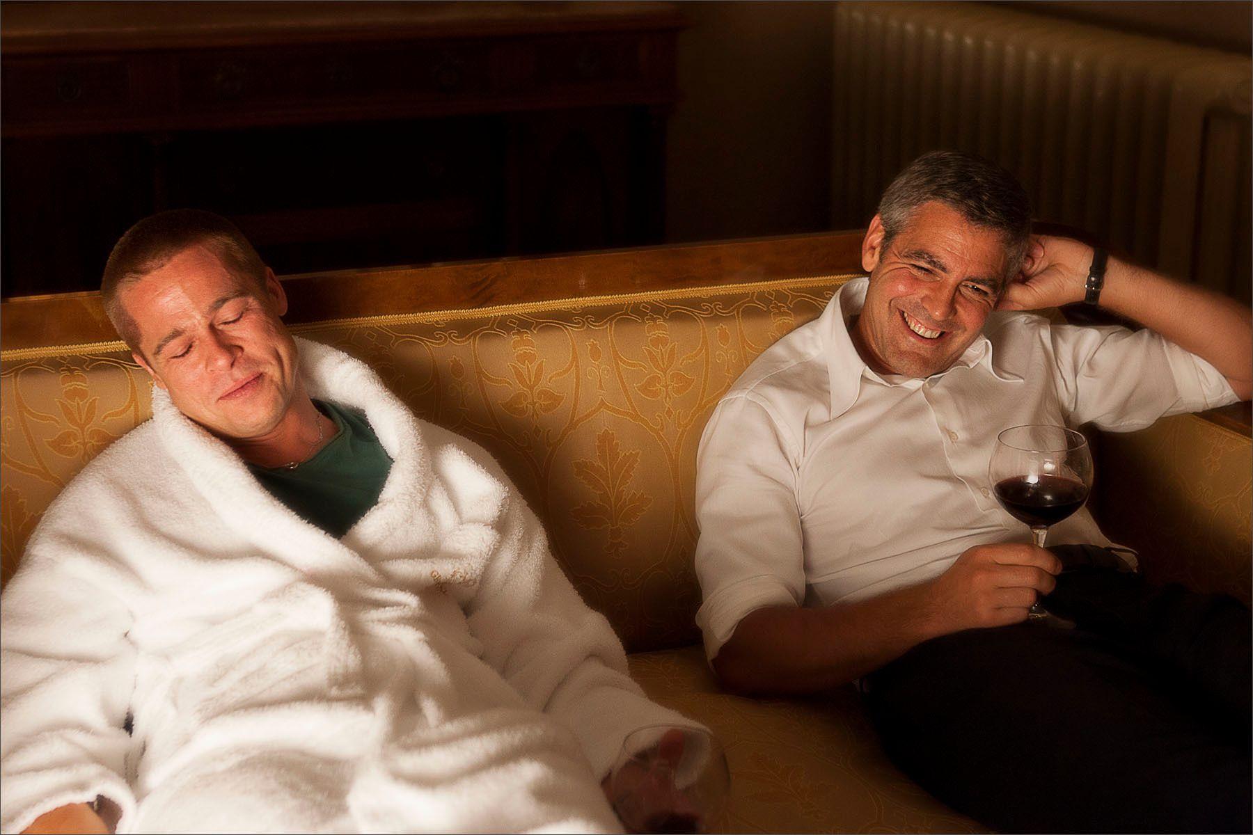 Brad Pitt & George Clooney - Ocean's Twelve
