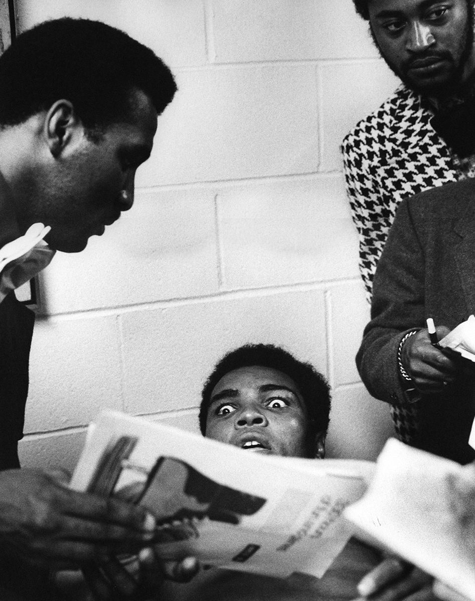 Muhammad Ali After 2nd Ali/Norton Fight