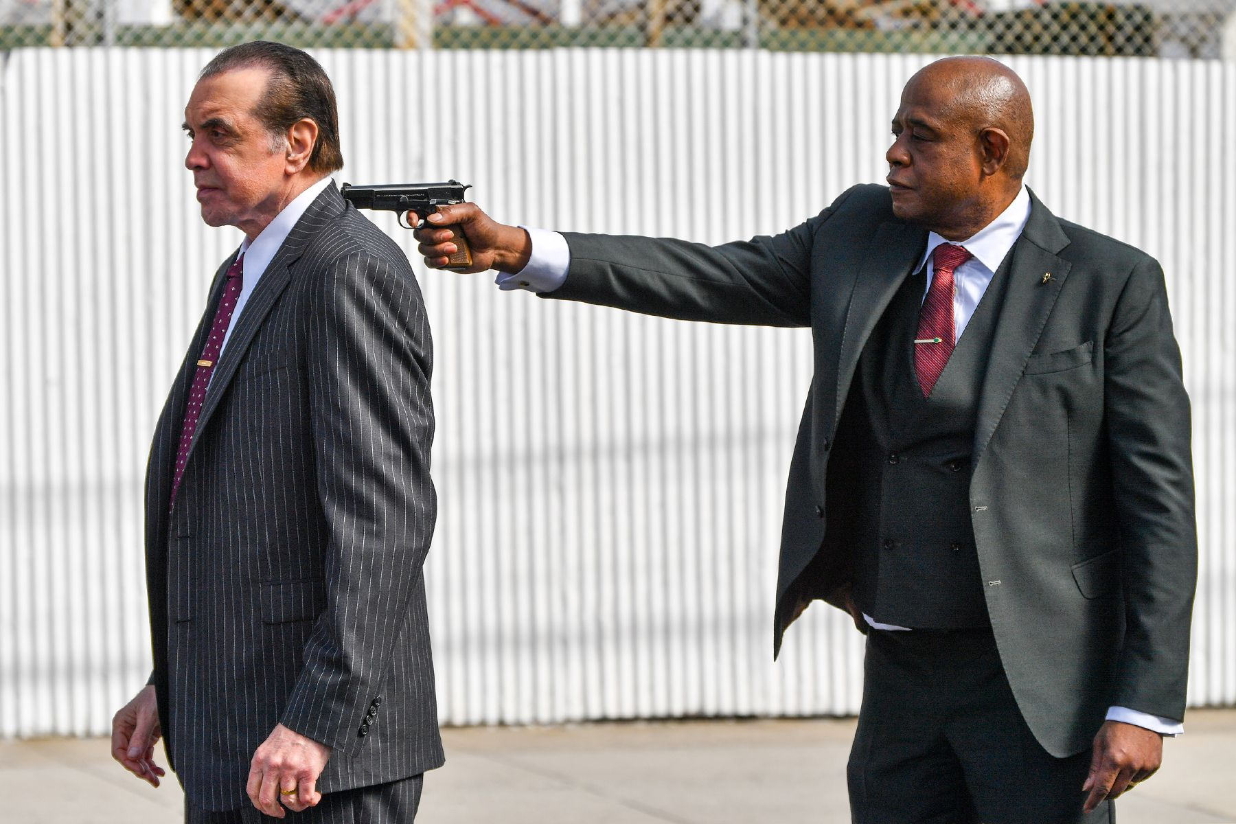Forest Whitaker and Chazz Palminteri