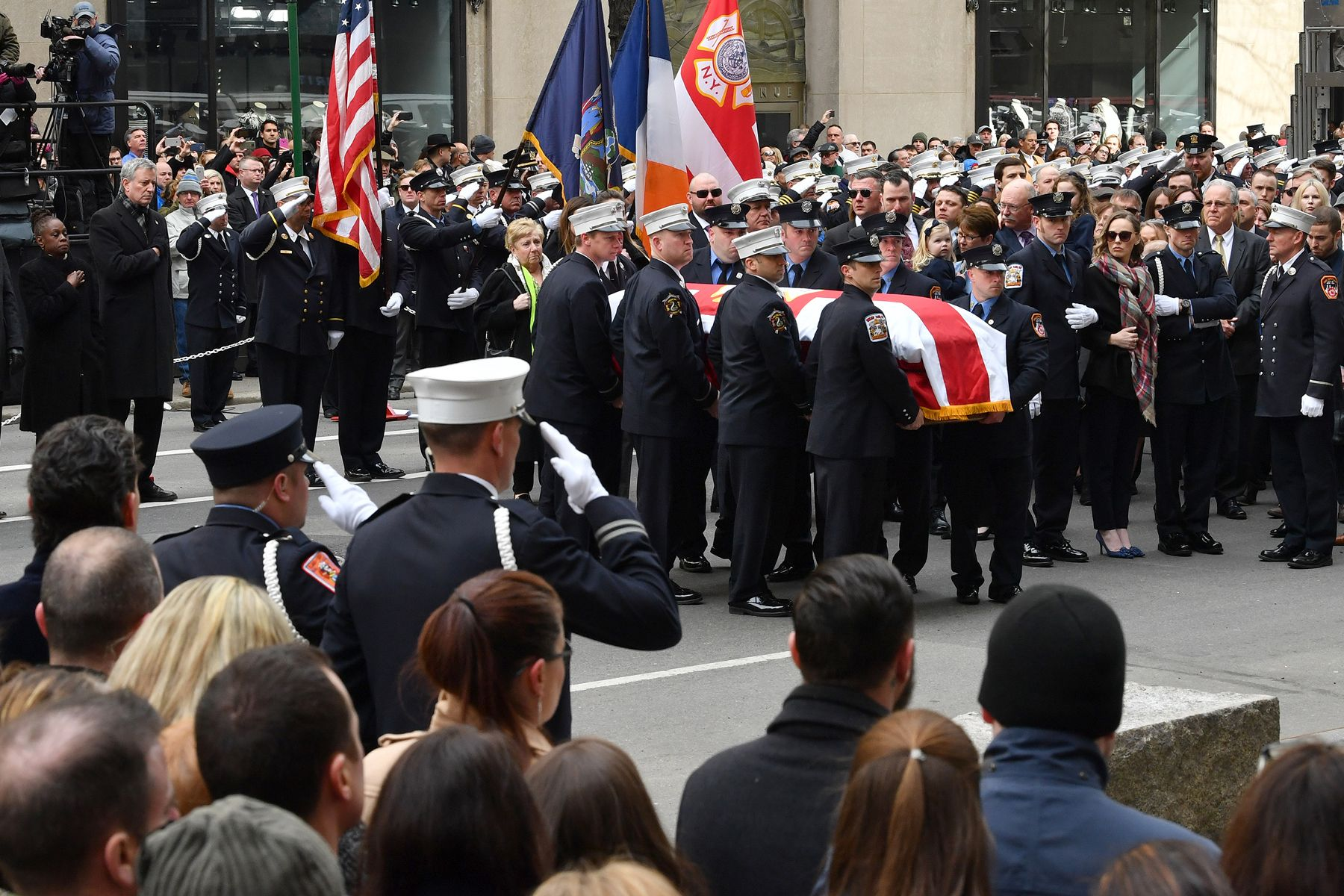 FDNY Michael Davidson funeral