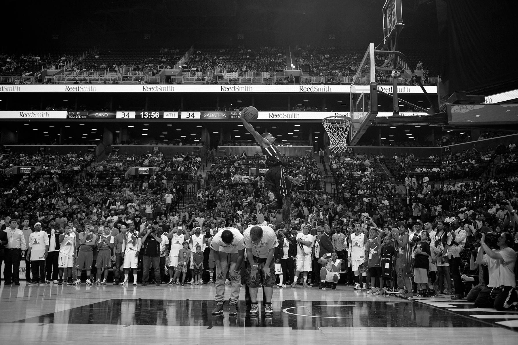 Cano vs Sabathia charity basketball