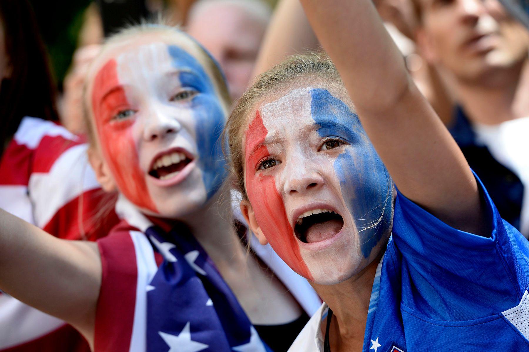 2015 FIFA Women's World Cup Champion U.S. Women's National Team.
