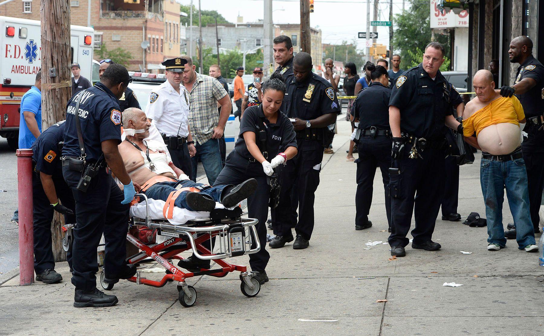 Brooklyn stabbing