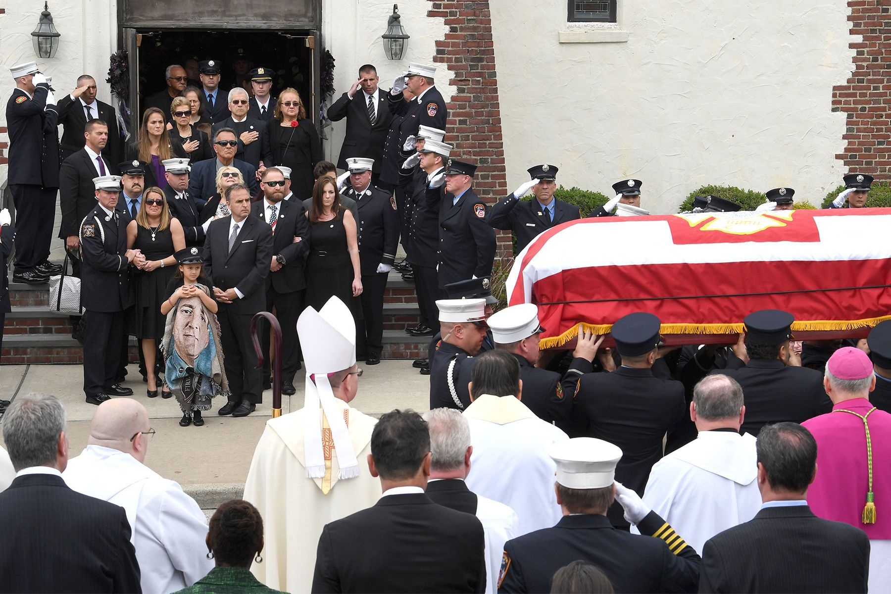 FDNY William Tolley funeral