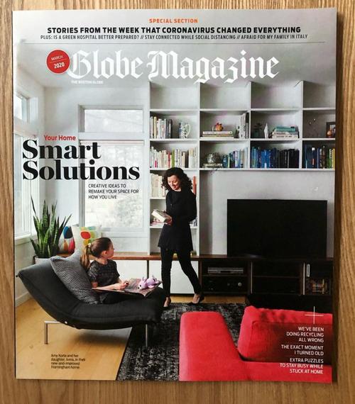 Boston Globe Magazine 2020 Cover