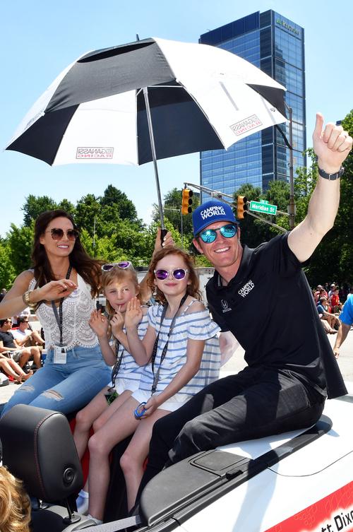 Indy car driver Scott Dixon