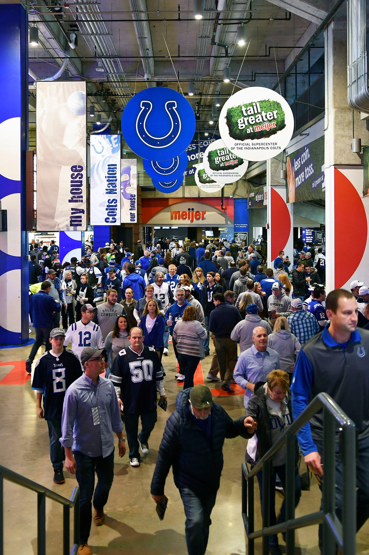 Game Day at Cowboys Colts game