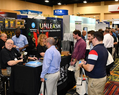 Industrial trade show photography