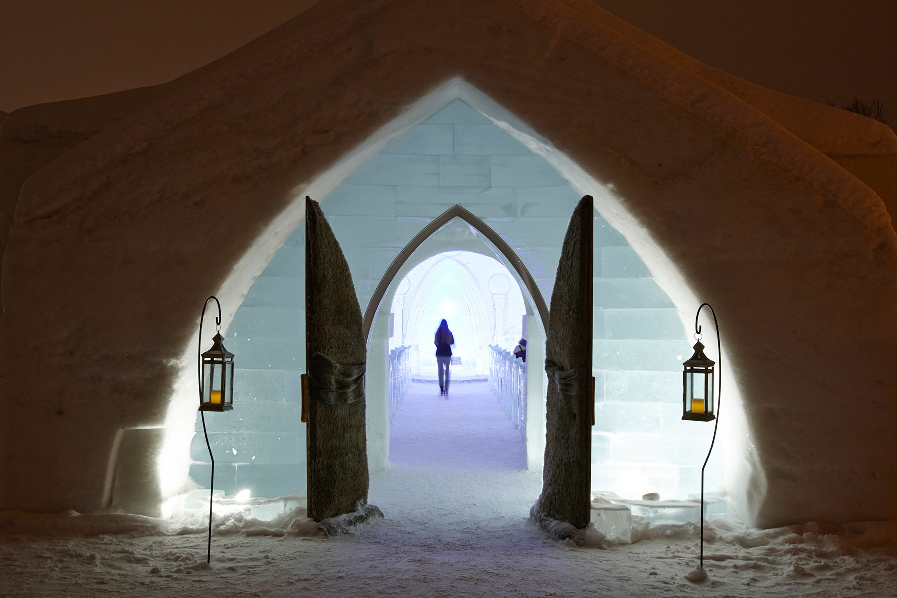 Chapel at the Hotel De Glace, Quebec